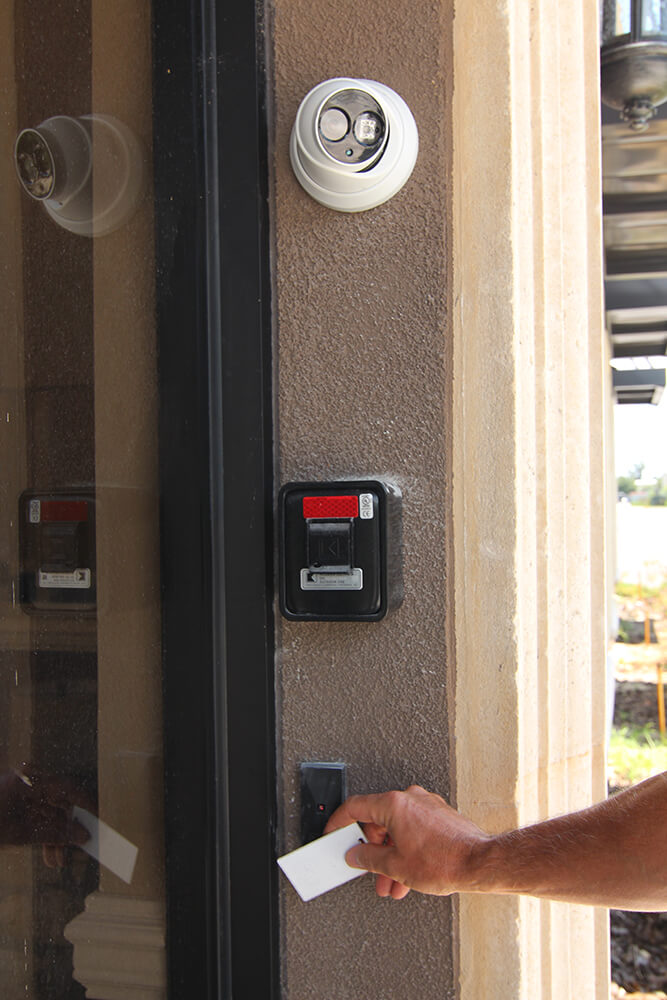 Card Access Gate System